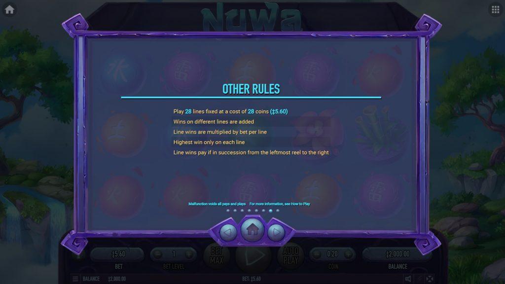 สล็อตเกม Nuwa มีวิธีชนะถึง 28 วิธี